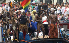 Гей-парад в Амстердаме. Фото с сайта amsterdamgaypride.nl
