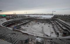 «Зенит-арена» на Крестовском острове © РИА Новости, Игорь Руссак