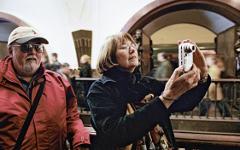 Иностранные туристы © РИА Новости, Руслан Кривобок