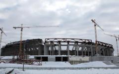 Строительство стадиона «Зенит-арена» в Санкт-Петербурге © РИА Новости, Игорь Рус