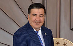 Михаил Саакашвили. Фото с сайта president.gov.ge