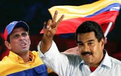 Энрике Каприлес (слева) и Николас Мадуро. Коллаж © KM.RU
