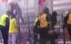 Место взрыва. Стоп-кадр с видео YouTube