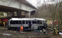 Место аварии. Фото с сайта vandaag.be