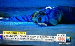 Один из подозреваемых. Кадр телеканала CNN