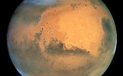 Марс. Фото с сайта wikipedia.org
