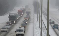 Пробка в Брюсселе. Фото с сайта vosizneias.com