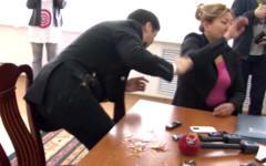 Серик Абденов. Кадр с видео Tengrinews
