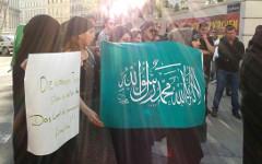Демонстрация в Вене. Фото Michaela Reibenwein с сайта kurier.at