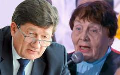 Вячеслав Двораковский и Алевтина Рапацевич. Коллаж © KM.RU