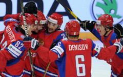 Игроки сборной России по хоккею © РИА Новости, Алексей Филиппов