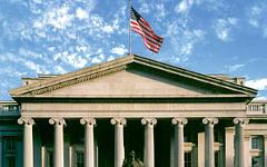 Здание Минфина США. Фото с сайта treasury.gov