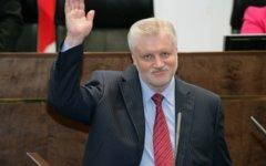 Сергей Миронов. Фото с сайта mironov.ru