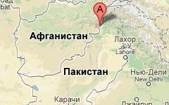Провинция Кунар. Изображение с сайта maps.google.com
