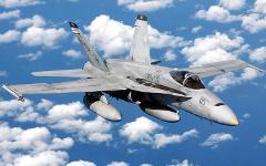 Истребитель F/A-18 Hornet. Фото с сайта defenselink.mil