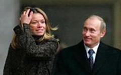 Мария и Владимир Путины. Фото с сайта kadry.viperson.ru