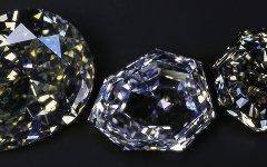Бриллианты разных форм огранки. Фото с сайта alrosa.ru