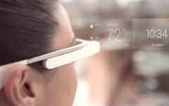 Google Glass. Стоп-кадр с видео в Youtube