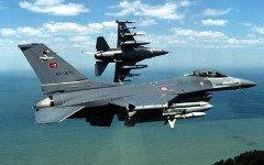 Истребитель F-16 ВВС Турции. Фото с сайта armamentoedefesa.blogspot.ru