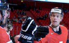Швейцарские хоккеисты © РИА Новости, Григорий Соколов