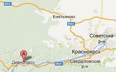 Двиногорск. Изображение с сайта maps.google.ru