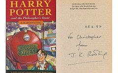 Первое издание книги с пометками Д.К.Роулинг. Фото с сайта sothebys.co