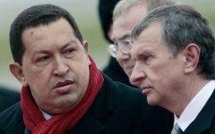 Уго Чавес и Игорь Сечин © РИА Новости, Руслан Кривобок