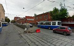 Дорожные работы на Лесной улице. Фото сервиса Google Maps