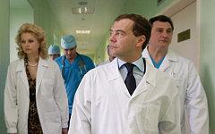 Дмитрий Медведев (в центре) © РИА Новости, Дмитрий Астахов