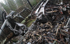 Обломки Ан-2. Фото с сайта 66.mvd.ru