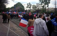 Акция протеста. Фото пользователя Твиттер @hannahwatchman