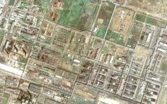 Мубарекский ГПЗ. Изображение с сайта maps.google.com