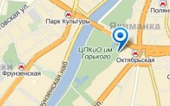 Крымский вал, дом 9. Изображение с сайта maps.yandex.ru