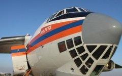 Самолет Ил-76. Фото с сайта mchs.gov.ru