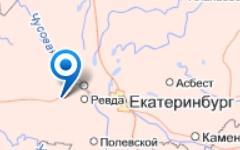 Поселок Дружинино. Изображение с сайта maps.yandex.ru