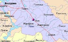 Город Нея. Изображение с сайта rfdata.al.ru