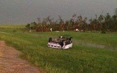Последствия торнадо в Оклахоме. Фото с сайта news9.com