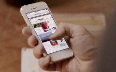 Кадр из рекламы Apple iOS 7