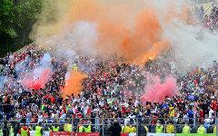 Болельщики «Спартака». Фото с сайта redwhite.ru