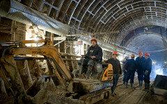 Строительство метро © РИА Новости, Евгений Самарин