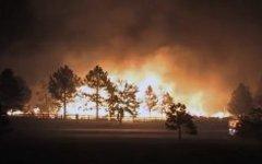 Пожары в Колорадо. Стоп-кадр с видео в YouTube