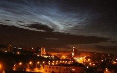 Серебристые облака над Челябинском. Фото с сайта znak.com