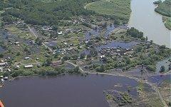 Паводок в Усть-Камчатском районе. Фото с сайта kamchatka.gov.ru