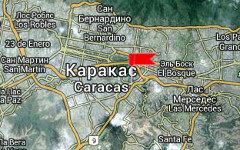 Центральный университет Каракаса на карте. Изображение сервиса Google Maps