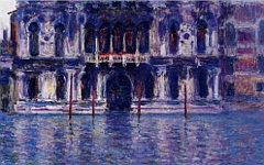 Картина Клода Моне «Палаццо Контарини»