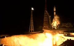 Запуск «Союз-2.1б». Фото с сайта mcc.rsa.ru