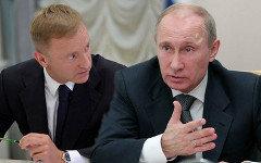 Дмитрий Ливанов и Владимир Путин. Коллаж © KM.RU
