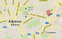 Место взрывов на карте. Изображение сервиса Google Maps