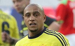 Роберто Карлос. Фото Е.Рыбаковой с сайта soccer.ru