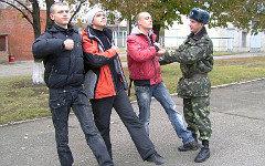 Украинские призывники. Фото с сайта mil.gov.ua
